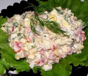 Как приготовить салат из крабовых палочек – рецепты хозяйки