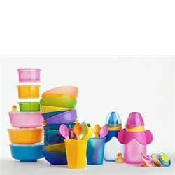 Какую посуду лучше выбрать для малыша в первый год жизни